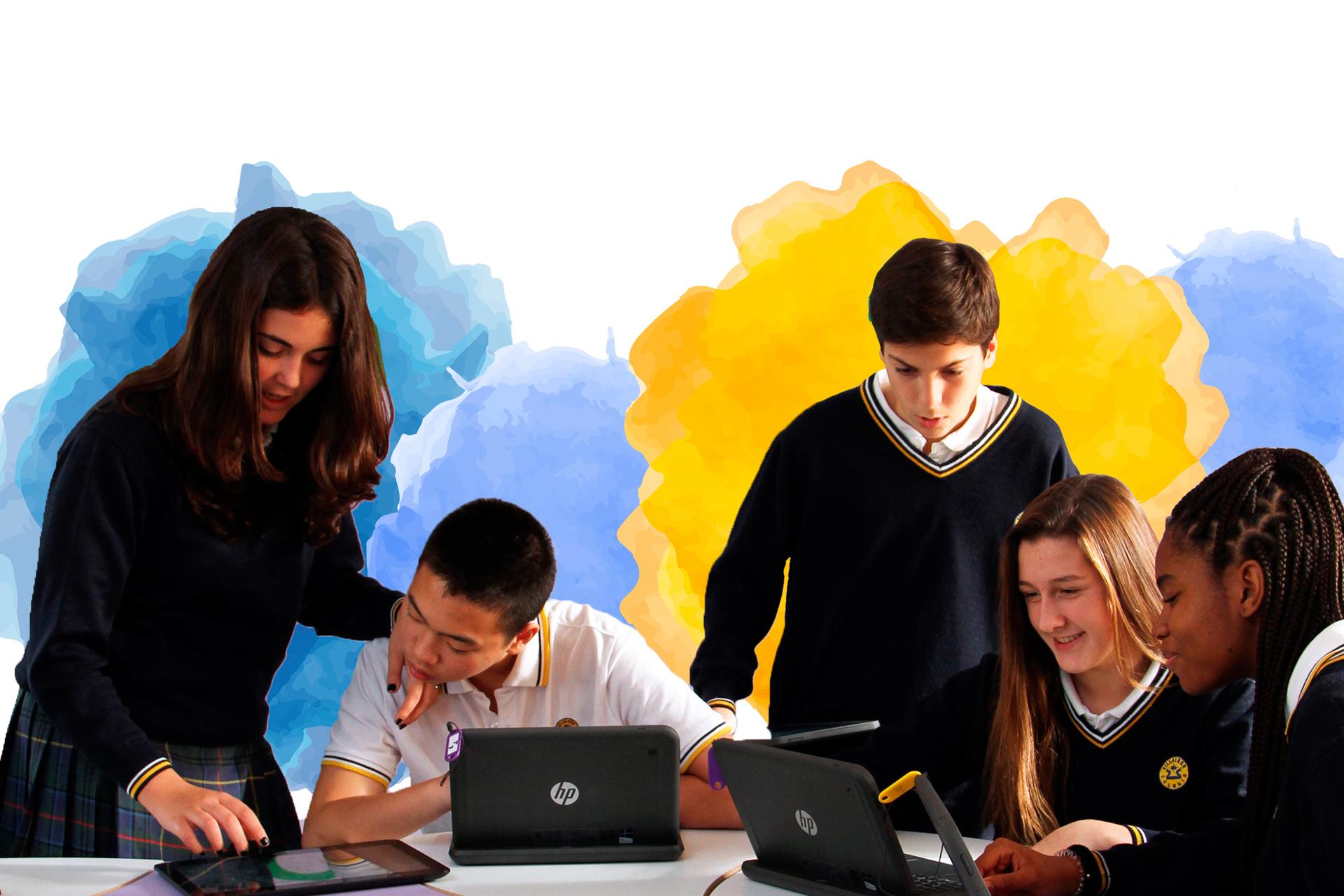 Colegio Villalkor Madrid Tablets Tecnologia