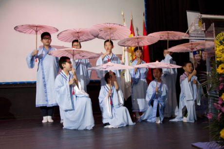 Embajadorcitos chinos en el Villalkor21